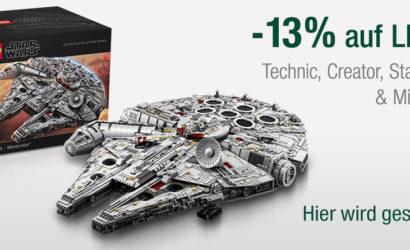 LEGO Star Wars im Sonntagsangebot bei GALERIA Kaufhof!