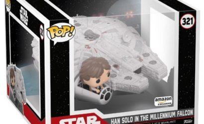 Funko POP! 321 Han Solo in the Millennium Falcon – Live-Eindruck und Bild der Box