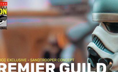 Ralph McQuarrie Concept Sandtrooper-Büste von Gentle Giant vorgestellt