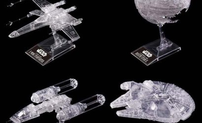 "Alle Informationen zum Bandai ""Return of the Jedi"" Vehicle Model-Set"