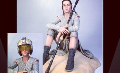 """Gentle Giant Rey """"Dreamer"""" Statue im Maßstab 1:7 angekündigt"""