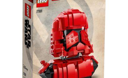 Exklusive LEGO Star Wars 77901 Sith Trooper-Büste angekündigt!