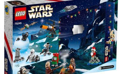 Alle Infos und Bilder zum LEGO Star Wars 75245 Adventskalender 2019