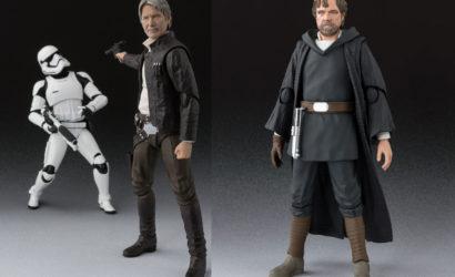 Neue Han Solo und Luke Skywalker S.H.Figuarts angekündigt