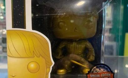 Funko POP! Luke Skywalker als Gold-Edition aufgetaucht