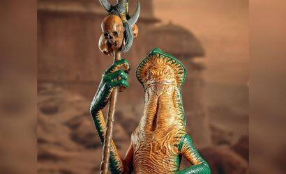 Neue Bilder zur Amanaman 1/6 Scale-Büste von Gentle Giant