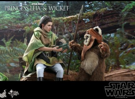 Neues Hot Toys Princess Leia & Wicket 1/6 Scale Figure-Set vorbestellbar