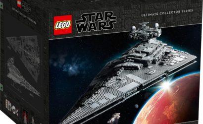 Der LEGO Star Wars 75252 UCS Imperial Star Destroyer mit 100 € Rabatt verfügbar!