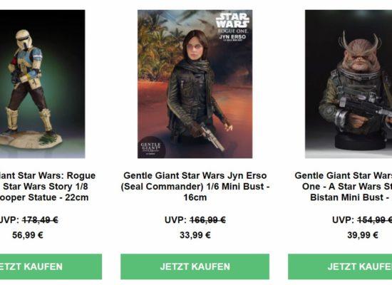 Gentle Giant Studios//Star War GG80718 Star Wars Jyn Erso Seal Commander Mini-B/üste Ma/ßstab 1:6