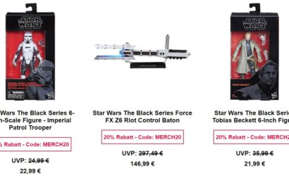 Tolle Hasbro Black Series-Deals bei Zavvi.de!