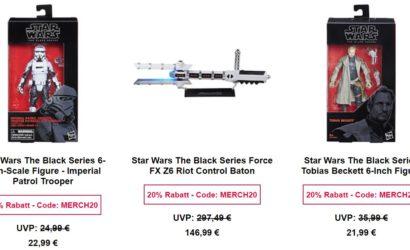 Tolle Hasbro Black Series-Deals bei Zavvi.de!