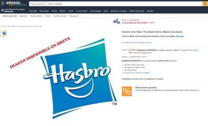Hasbro Black Series 6″ Cara Dune-Figur via Amazon.it bestätigt!