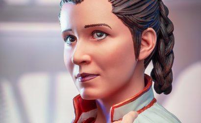 Finale Bilder zur Gentle Giant Princess Leia (Cloud City) PGM-Bust