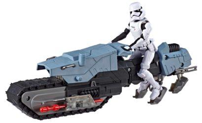 Pressebilder zum Hasbro GOA 5″ First Order Driver & Treadspeeder-Set