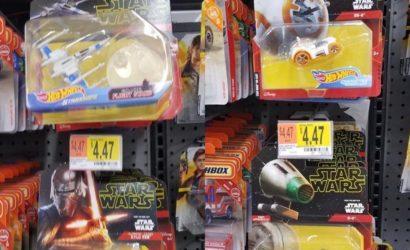 """Zwei neue Hot Wheels Character Cars zu """"Star Wars: The Rise of Skywalker"""""""