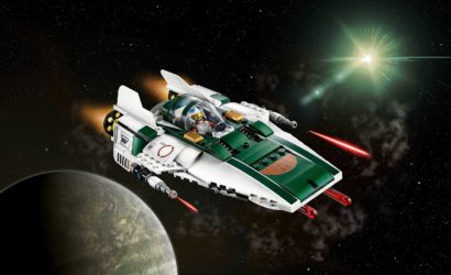 LEGO Star Wars 75248 Resistance A-Wing Starfighter – Alle Bilder und Infos!
