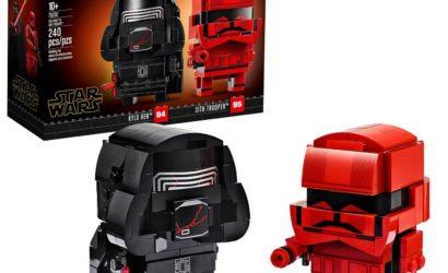 Alle Infos und Bilder zum LEGO Star Wars 75232 Kylo Ren & Sith Trooper Brickheadz-Set