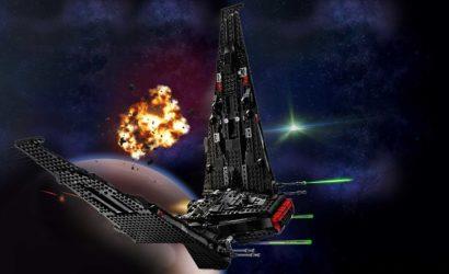 LEGO Star Wars 75256 Kylo Ren's Shuttle – Alle Bilder und Infos!