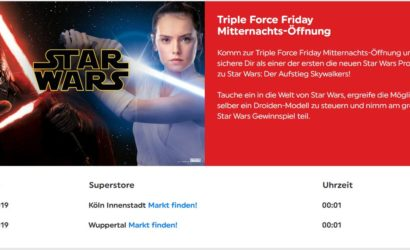 Triple Force Friday 2019: Mitternachts-Shopping bei Smyth's Toys