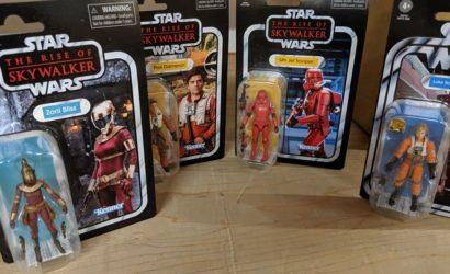 Hasbro TVC 3.75″-Figuren zu The Rise of Skywalker – erste Live-Bilder