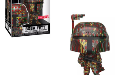 Drei Funko POP! Boba Fett Wackelköpfe im Futura-Design vorgestellt