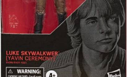 Black Series 6″ Luke Skywalker (Yavin Ceremony) – Beschriftungsfehler auf der Box