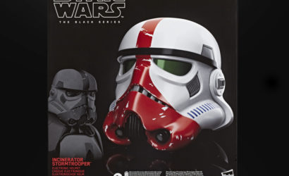 Der Hasbro Black Series Incinerator Stormtrooper Helmet ist ab sofort lieferbar!