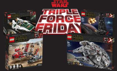 Triple Force Friday 2019: Alle LEGO Star Wars-Sets ab sofort verfügbar!