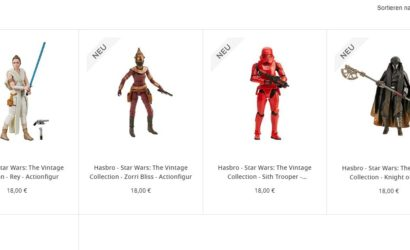 Triple Force Friday 2019: Viele neue Hasbro 3.75″ Vintage Collection-Figuren lieferbar!
