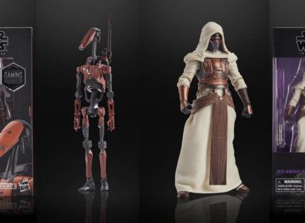 Neue Infos und Bilder zu den Hasbro Black Series Gaming Greats 6″-Figuren