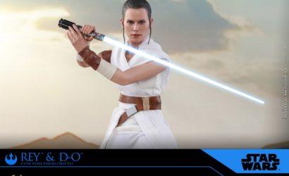 Alle Infos zum Hot Toys Rey & D-0 Sixth Scale Figure Set