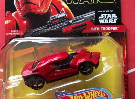 Hot Wheels Sith Trooper, Mandalorian und First Order Jet Trooper Character Cars aufgetaucht!