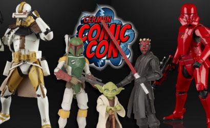 Alle Hasbro Star Wars-Neuankündigungen von der German Comic Con Dortmund