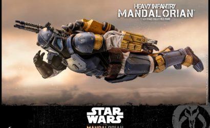 Alle Infos zur Hot Toys Heavy Infantry Mandalorian 1/6 Scale-Figur