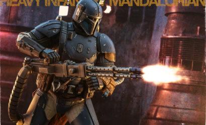 Hot Toys 1/6th Scale Heavy Infantry Mandalorian (TMS010): Finale Produktbilder