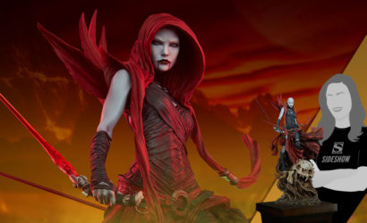 Sideshow Collectibles Asajj Ventress Mythos-Statue: Finale Produktbilder