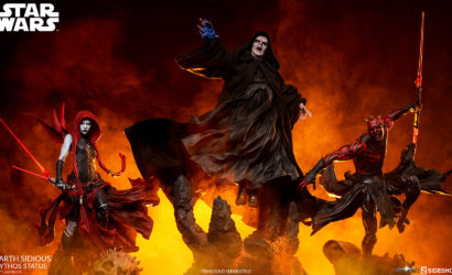 Sideshow Collectibles Darth Sidious 1/5 Mythos-Statue: Finale Produktbilder