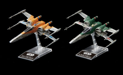 Neue Bandai X-Wing Fighter Model-Kits zu The Rise of Skywalker