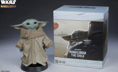 "Sideshow Collectibles ""The Child"" Life-Size Figure – finale Bilder"
