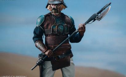 Sideshow Lando Calrissian (Skiff Guard) 1/6 Scale-Figur vorgestellt
