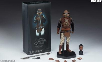 Sideshow Lando Calrissian (Skiff Guard) 1/6 Scale-Figur: Finale Produktbilder