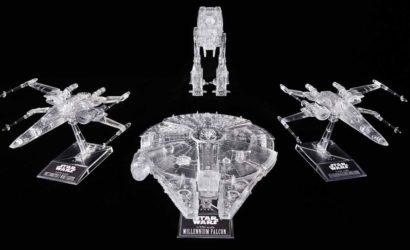 "Bandai ""The Last Jedi"" Clear Vehicle-Set vorgestellt"