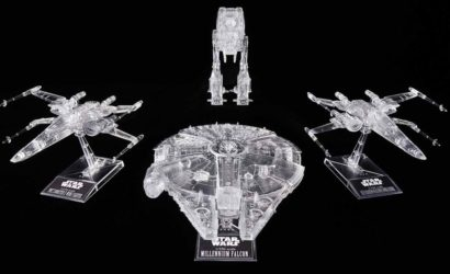 "Bandai ""The Last Jedi"" Clear Vehicle-Set vorgestellt"