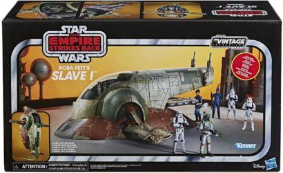 Die neue Hasbro Vintage Collection 3.75″ Boba Fett's Slave I mit 28% Rabatt