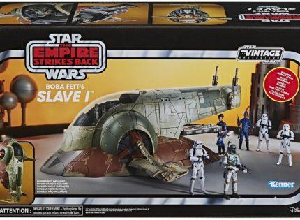 Neuauflage der Hasbro Vintage Collection 3.75″ Boba Fett's Slave I angekündigt