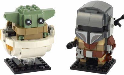 LEGO BrickHeadz 75317 The Mandalorian & The Child-Set zur Vorbestellung verfügbar!