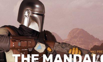 The Mandalorian als Premier Collection Statue von Diamond Select Toys präsentiert