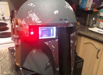 Alle Infos und Bilder zum Hasbro Black Series Boba Fett Electronic Helmet