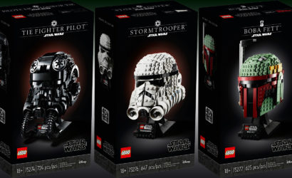 """Alle Infos und Bilder zur neuen LEGO Star Wars """"Helmet Collection"""""""