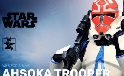 Ahsoka's 332nd Clone Trooper Mini-Bust von Gentle Giant angekündigt